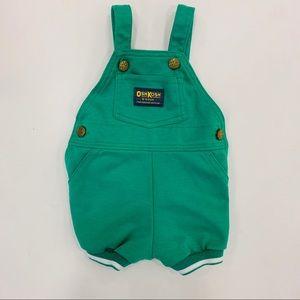 Osh Kosh Baby B'Gosh Vintage Short Coveralls USA